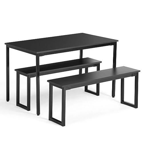 Swell Dining Tables Set Bench Amazon Com Machost Co Dining Chair Design Ideas Machostcouk