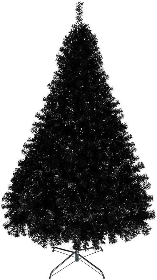 Bonnlo Upgraded Full 6ft Artificial Hallowe Tree New arrival Christmas Denver Mall Black