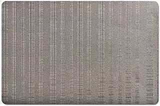 Zeller Ensemble de Sets de Table Vinyle 43,5x28,5cm en Gris, Autre