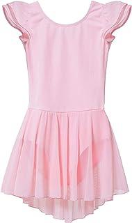 Toddler Ballet leotard for Girls Dance Flutter Sleeve...