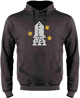 Apollo 11 Retro Knit Sweater Style Costume Sweatshirt Hoodies for Men