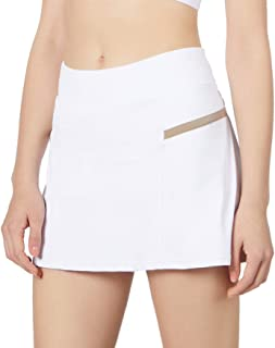 POSHDIVAH Women's Athletic Skirts with Built-in Shorts Skorts for Tennis Golf Running Workout and Casual