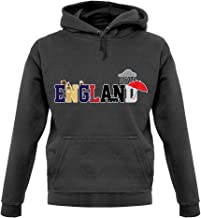 England (Icons) - Unisex Hoodie/Hooded Top - 12 Colours