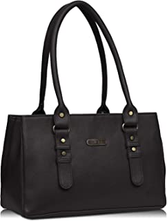 Fristo Women's Handbag (FRB-312_Black)