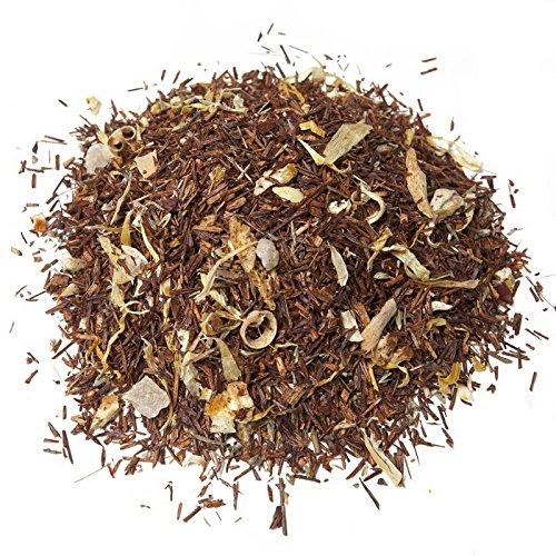 Aromas de Te - Te Infusion Rooibos - Con Pina, Azahar, Calendula, Tomillo, Limon y Naranja - Rica en Vitamina C - Ideal para el Proceso Catarral - Adelgazante - 100 gr.