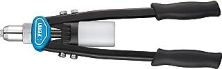 Fervi 0453 Nietzange mit Doppelheben, 3,2 6,4 mm, Zyanblau/Schwarz