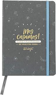 Mr. Wonderful WOA10350ES Diario y Planificador de Nuestra Boda