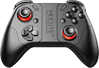 Bluetooth Game Controller, Mocute 053 Wireless Joystick Controller Remote VR Gamepad, Compatible with Android Smartphone Tablet PC, 40H Gaming Time