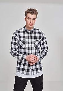 Urban Classics Checked Flanell Shirt Camisa para Hombre