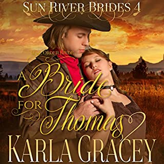 Mail Order Bride - A Bride for Thomas audiobook cover art