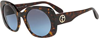 Giorgio Armani Wayfarer Sunglasses for Woman, Blue, AR8110 50268F 52