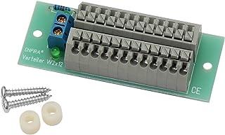 Edelstahlmarkenshop Stromverteiler Verteiler 4 Modelle 8A belastbar Modellbau Gleich- und Wechselstrom W2x12