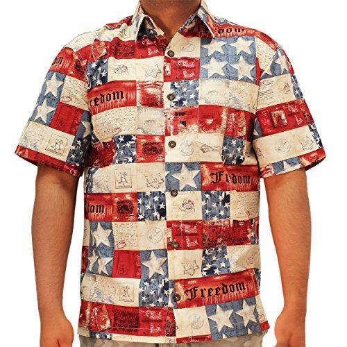 Patriotic Hawaiian Shirt