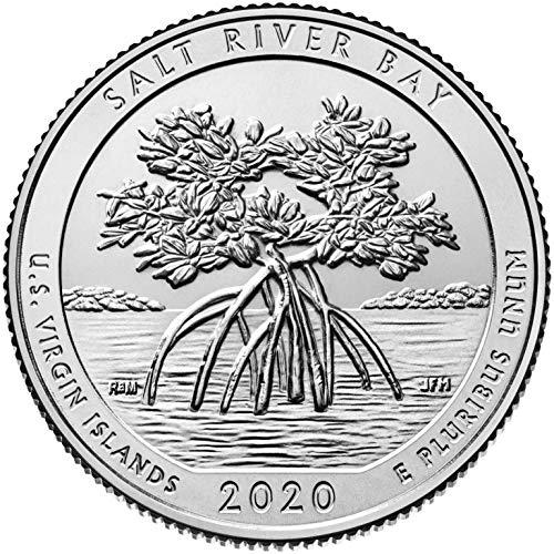 2020 P Bankroll of 40 – Salt River Bay National Historical Park, VI Uncirculated