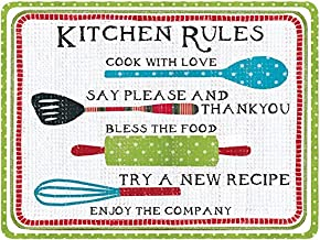 Lang 5035129 Kitchen Rules Cutting Board by Susan Winget, 15.75