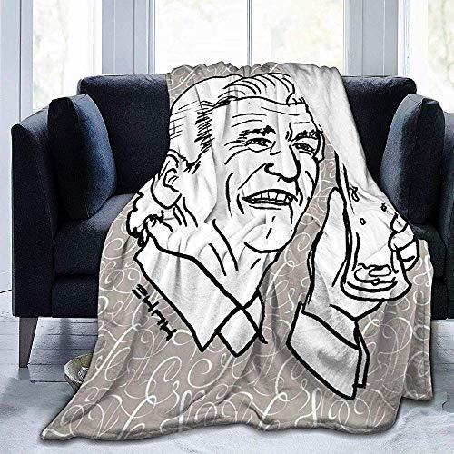 Niet van toepassing lichtgewicht flanel deken, zachte fleece deken, cabine gooien deken, hypoallergeen deken, Bob bier Skol en schedel bed bank deken, warme winter gooien deken