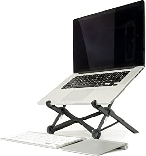 Roost Laptop Stand - Adjustable and Portable Laptop Stand - PC and MacBook Stand, Made in USA