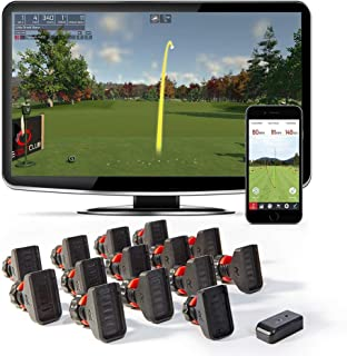 Rapsodo R-Motion Golf Simulator and Swing Analyzer with 14 Clip Attachments - PC and Smartphone