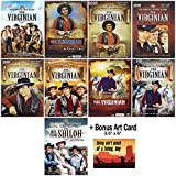 The Virginian (AKA The Men From Shiloh): Complete TV Series Seasons 1-9 DVD Collection + Art Card