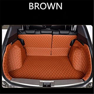 Custom Leather Car Trunk Mats For NISSAN Armada Altima Dualis Juke Tiida C11 C13 Rogue Versa Rear Trunk Floor Mat Tray Car...