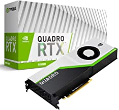 PNY NVIDIA Quadro RTX 8000, Black, Green, Silver (VCQRTX8000-PB)