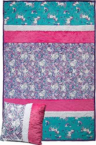 Minky Picture Perfect Stardust Unicorn Cuddle Kit Quilt Kit Shannon Fabrics