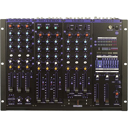VocoPro KJM-8000 Plus 9 Ch Pro KJ/DJ Mixer w/Digital Key Control And 7 Band EQ