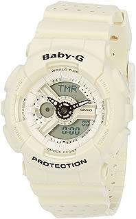 Casio Baby G Women BA110PP-7A Year-Round Analog-Digital Automatic White Watch