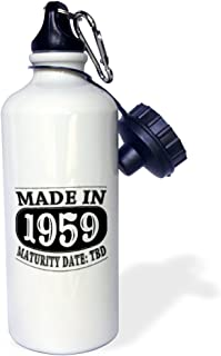 21oz wb/_212511/_1 21 oz Multicolor 3dRose Made in 1998-Maturity Date TDB-Sports Water Bottle