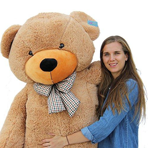 "Joyfay 78"" Giant Teddy Bear Brown Huge 6.5 feet Stuffed Teddy Bear Soft Toy Valentine's Big Gift"