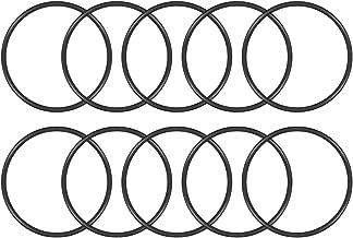 Black Round Seal Gasket Package of 5 Width 5 mm O-Rings Nitrile Rubber Outer Diameter 105 mm Inner Diameter 95 mm