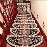 BJYG Robustes, Komfortables Laufband zum Aufstecken für waschbare, gemischte, gewölbte Stufen zur...