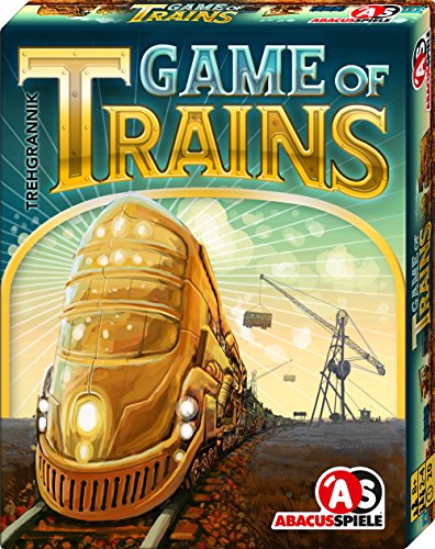 ABACUSSPIELE 08161 - Game of Trains, Kartenspiel