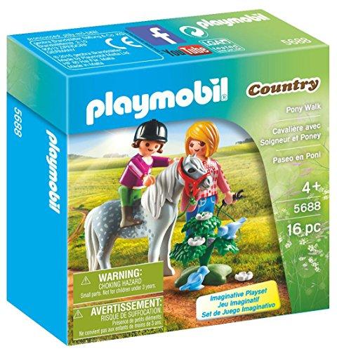 PLAYMOBIL Pony Walk Playset