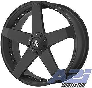 KMC KM77528000732 ROCKSTAR CAR 20x8 BLACK (32mm)