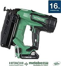 Hitachi NT1865DM 18V Cordless Straight Finish Nailer, Brushless Motor, 16 Gauge, 1