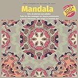 Libro de colorear para adultos Mandala - Todos los dias comienzan con buenos pensamientos y buenas intenciones. ¡Que tengas un excelente dia!