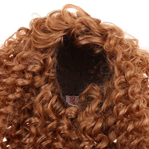 Sharplace Mode Lange Lockige Puppenperücke Für Puppen DIY Haarteil Machen und Reparatur - # 1