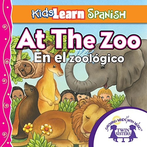 Kids Learn Spanish: At the Zoo (Counting) cover art