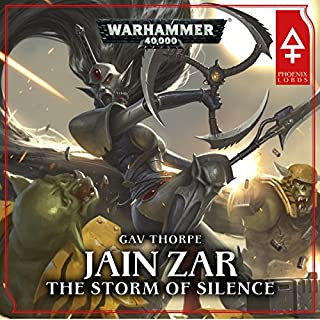 Jain Zar - The Storm of Silence: Warhammer 40,000 cover art
