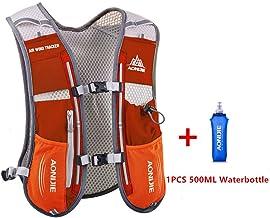 AONIJIE 5L multifunción Mochilas de hidratación, Ideal para Deportes al Aire Libre, acampadas, Ciclismo, Carreras, Alpinismo o Senderismo, Incluye 1 * 500 ML Botella de Agua