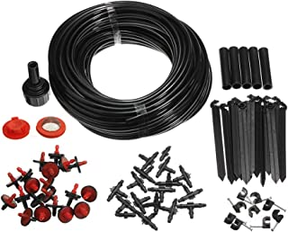 Applylee Garden Watering Hose,Micro Drip Irrigation System DIY, Self Plant Hoses with Drippers - 905.51 Inch