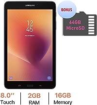 Samsung Galaxy Tab A 8.0'' Touchscreen (1280 x 800) Wi-Fi Tablet, Quad-Core 1.4GHz Processor, 2GB RAM, 16GB Memory, Dual Cameras, Bluetooth 4.2, Bonus 64GB MicroSD Card, Android 7.1 OS
