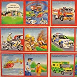 Notfall Dienste-Buch Stoff Panel–Rettungsdienst