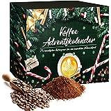 Adventskalender Kaffee 2021 mit 24 Tütchen voller himmlischen Kaffeegenusses für eine besinnliche Weihnachtszeit  Weihnachtskalender Geschenkset zur Weihnacht- und Adventszeit
