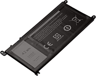 Battery Compatible with DELL WDX0R Inspiron 15 5565 5567 5568 5578 7560 7570 7579 7569 13 5368 5378 7368 7378 17 5765 5767 5770 Fits 3CRH3 T2JX4 FC92N CYMGM -12 Months Warranty