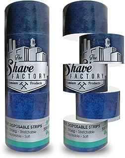 Shaving Factory Barber Neck Strip, 500 Count