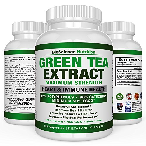 Green Tea Extract Capsules with EGCG
