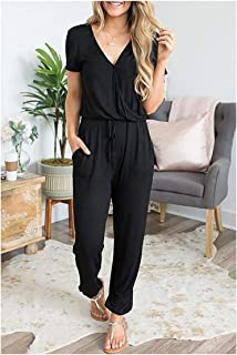 Jumpsuit Sexy Leopard Print Off Shoulder Halter Split Loose Long Playsuit Bandage Rompers Club Party Overalls