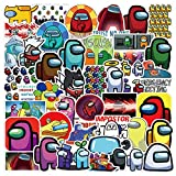 Among Us Game Stickers 50pcs, Waterproof Cute Sticker Teen Kid for Bottle Laptop, Hot Online Game Special Character The Crew Imposter Crewmate Fandom Vinyl Decal for Cycle Luggage Car Skateboard